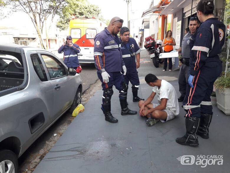 Homem é vítima de agressão na Vila Prado - Crédito: Maycon Maximino