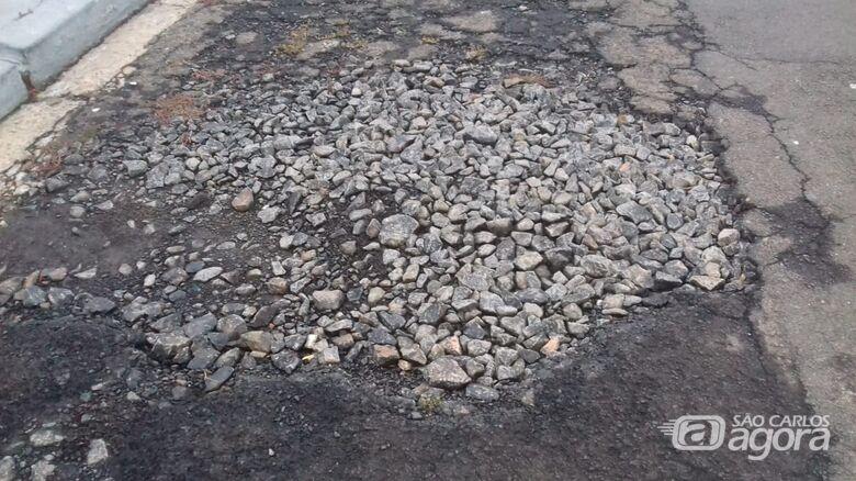 Ruas no Boa Vista tiram a paciência de moradores - Crédito: Divulgação