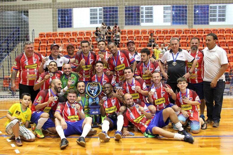 Em busca do 'bi', São Carlos Futsal encara Araraquara na estreia da Copa Record - Crédito: Marcos Escrivani