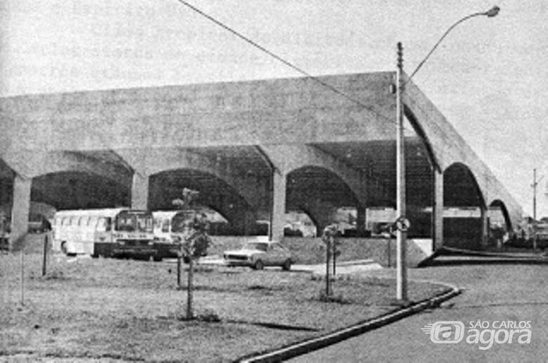 A novela da construção do terminal rodoviário - Crédito: Rodrigo Dias/Acervo Antonio Carlos Lopes da Silva/Correio de S. Carlos e O Diário