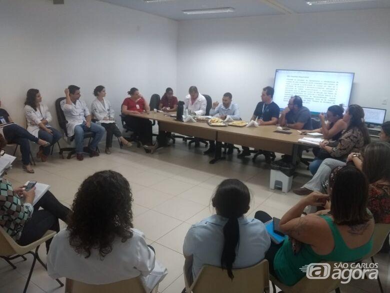 HU promove reunião com unidades que integram a rede de atenção em Saúde Mental de São Carlos - Crédito: Marilia Corbini