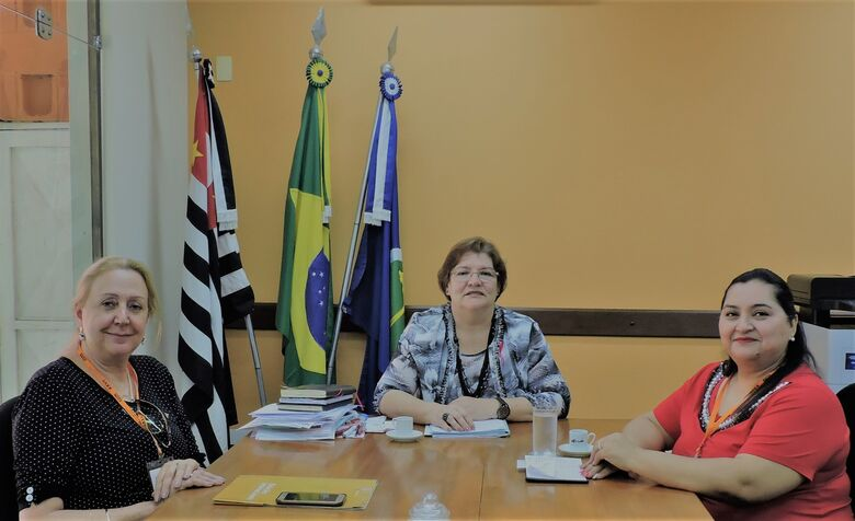 Vice-Reitora da Universidad Nacional de Itapúa, no Paraguai, visita a UFSCar - Crédito: Divulgação