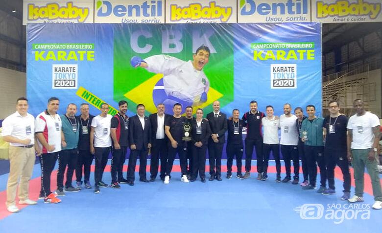 Com técnico são-carlense, São Paulo conquista título no Brasileiro de Karatê - Crédito: Divulgação