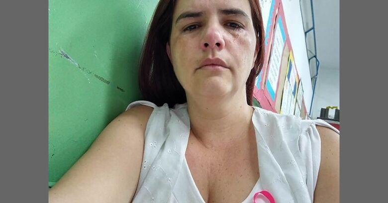 Professora apanha de mãe de aluno em escola na grande SP - Crédito: Divulgação