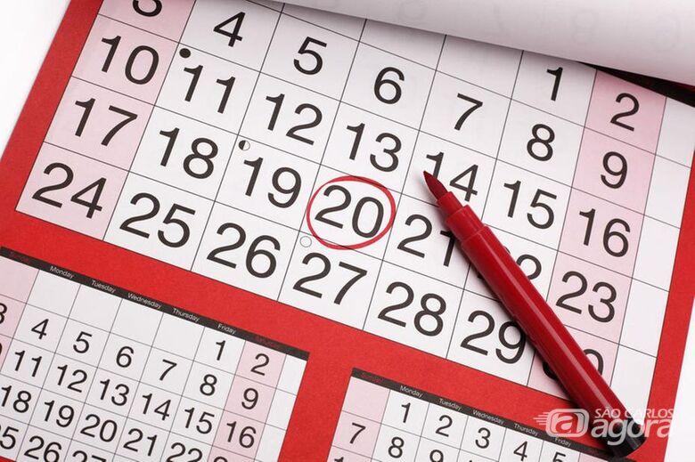 2020 terá o dobro de feriados prolongados - Crédito: Divulgação