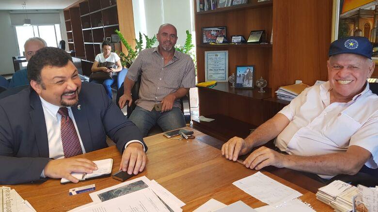 Prefeito Airton Garcia recebe Cônsul do Egito - Crédito: Divulgação