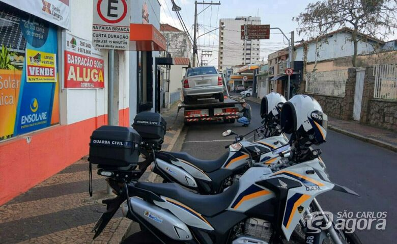 Carro com R$ 6,5 milhões em multas e outros débitos é apreendido em cidade da região - Crédito: Grupo Rio Claro