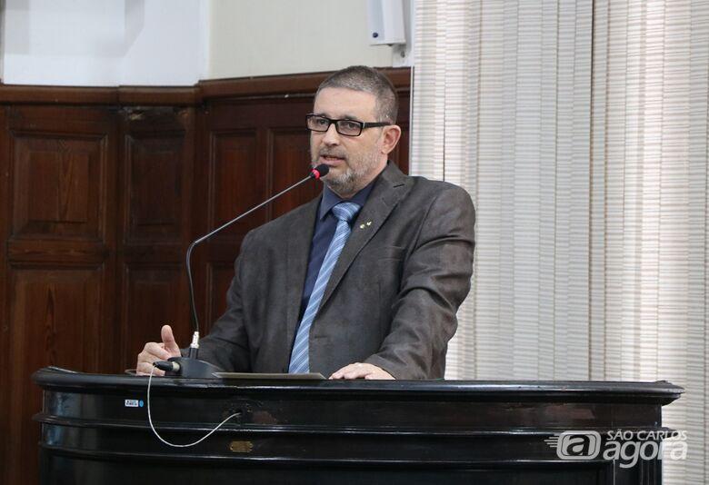Edgard Andreazi Moreira assume mandato na Câmara - Crédito: Divulgação