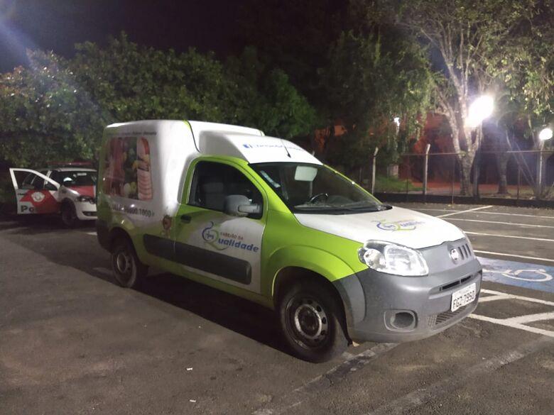 PM localiza veículo furtado no Centro em estrada de terra do Novo Mundo - Crédito: Luciano Lopes/São Carlos Agora