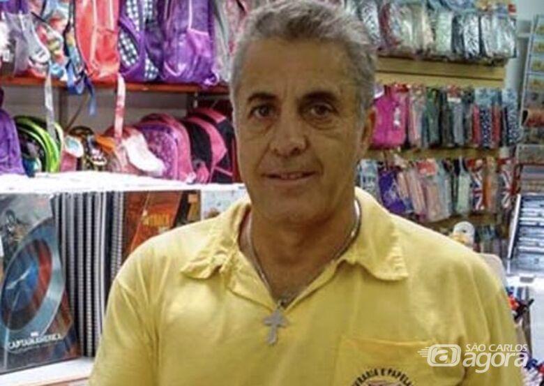 LUTO: Morre Carlão da livraria, conhecido comerciante de Ibaté - Crédito: Divulgação