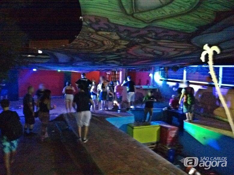 Festa com cerca de 500 pessoas é interditada no Cidade Jardim após reclamações - Crédito: Divulgação
