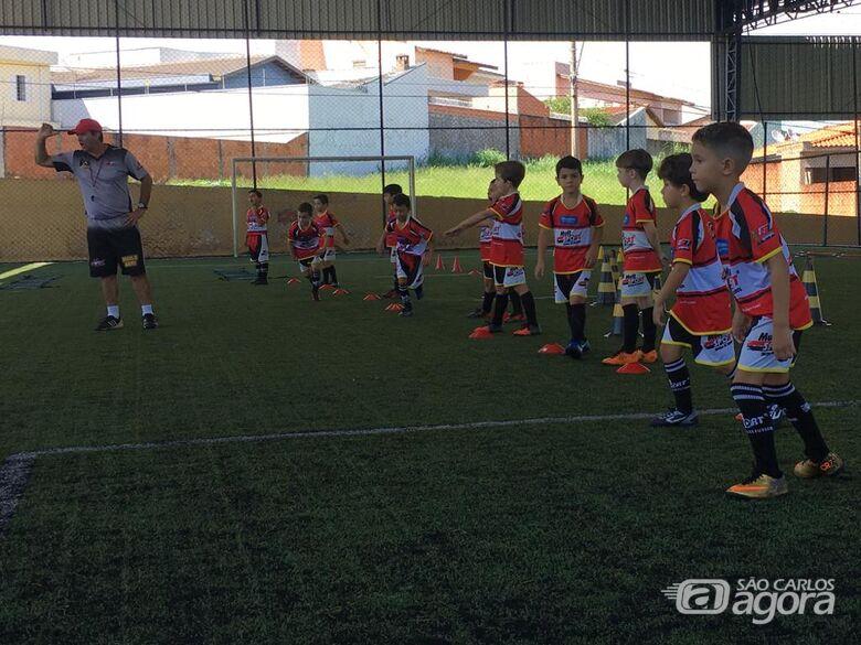 Atletas do baby foot treinam de olho no interno da Mult Sport - Crédito: Divulgação