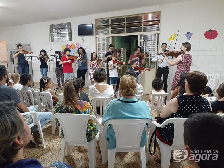 Creche Padre Teixeira passa a ter sala de musicalização para crianças - Crédito: Divulgação