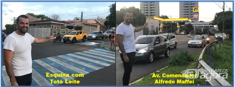 Vereador Rodson solicita instalação de semáforos na região do Jardim Ricetti - Crédito: Divulgação