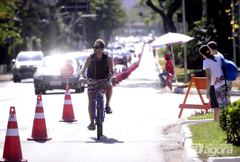 Roselei pede a criação de ciclofaixas de lazer nas marginais aos domingos - Crédito: Divulgação