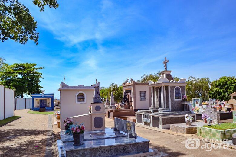 Cemitério Municipal de Ibaté está preparado para receber visitas no Dia de Finados - Crédito: Divulgação