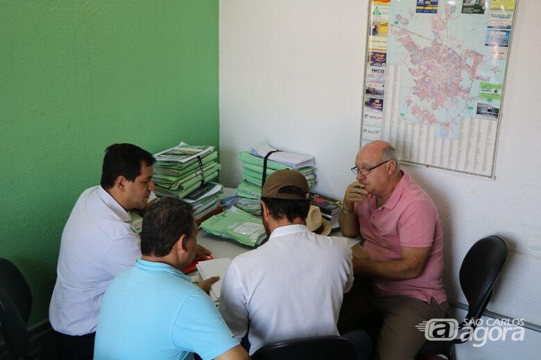 Membros da Comissão Parlamentar de Inquérito visitam Secretaria de Transporte e Trânsito - Crédito: Divulgação