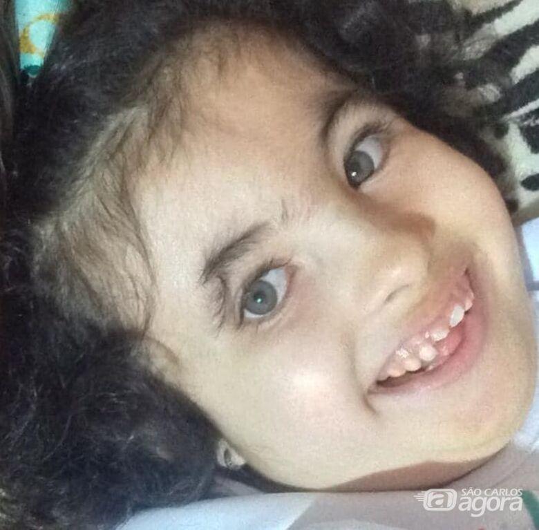 Morre menina que lutava contra doença rara - Crédito: Arquivo Pessoal