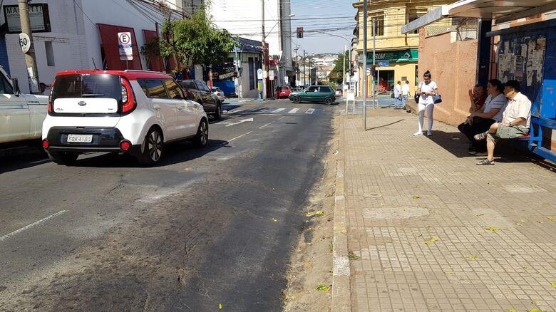 Prefeitura vai reconstruir pavimento de dois trechos da rua Dona Alexandrina - Crédito: Divulgação
