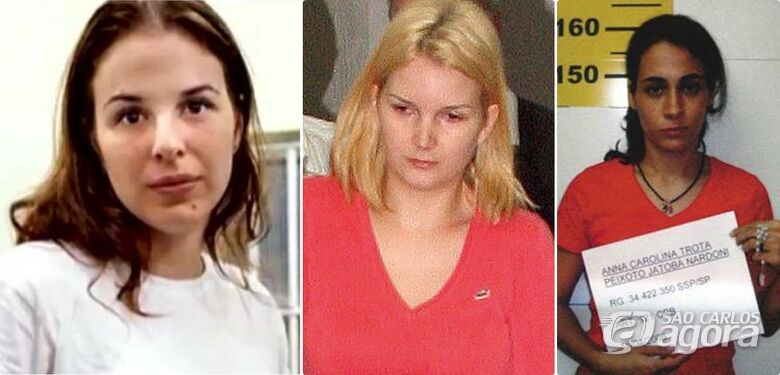 Suzane Richthofen, Anna Carolina Jatobá e Elize Matsunaga deixam a prisão para o dia das crianças - Crédito: Divulgação