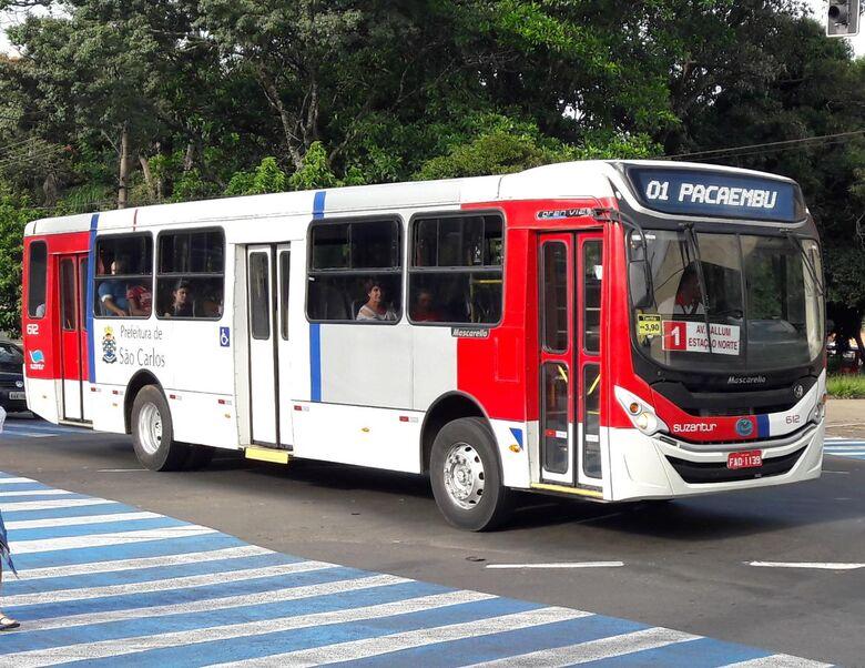 Suzantur São Carlos informa mudanças dos ônibus durante obra na rua Dona Alexandrina - Crédito: Divulgação