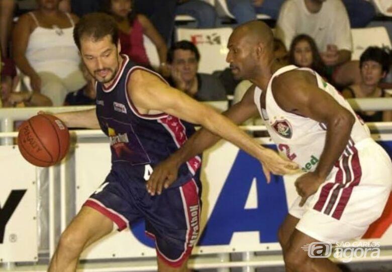 Seleção brasileira master de basquete faz apresentação em São Carlos - Crédito: Divulgação