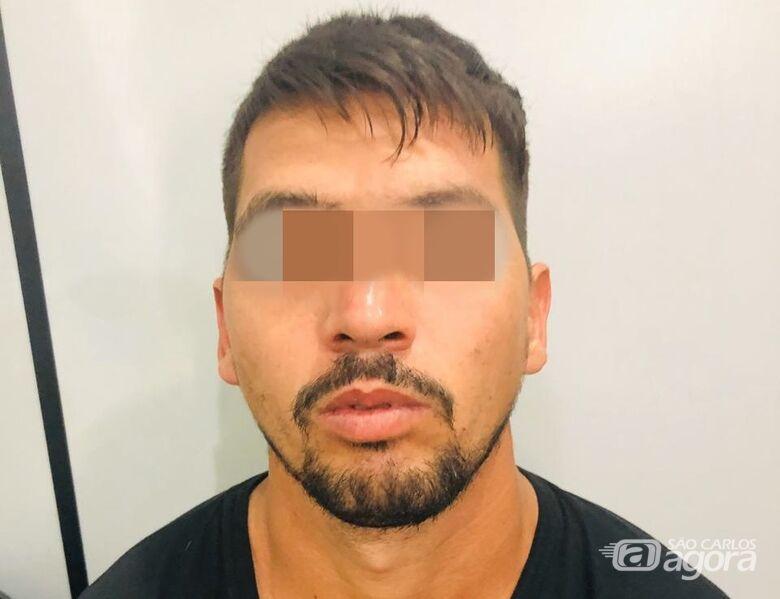 Acusado de tentar matar colega de trabalho é detido pela PM - Crédito: São Carlos Agora