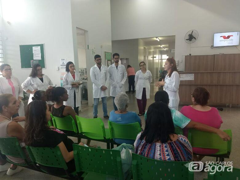 Unidades de Saúde da Família promovem palestra com a UFSCar com foco na mulher - Crédito: Divulgação