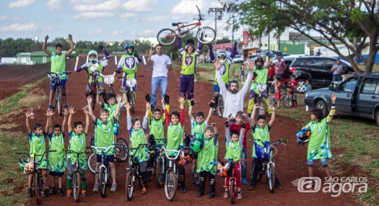 Dia das Crianças será comemorado com festa pela Associação São-carlense de Ciclismo - Crédito: Flor Carrizo