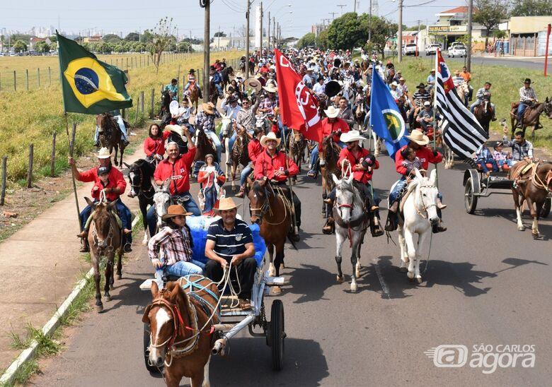 Cavalgada de São Francisco de Assis em Ibaté contará com o apoio dos Sertanejos do Bem - Crédito: Divulgação