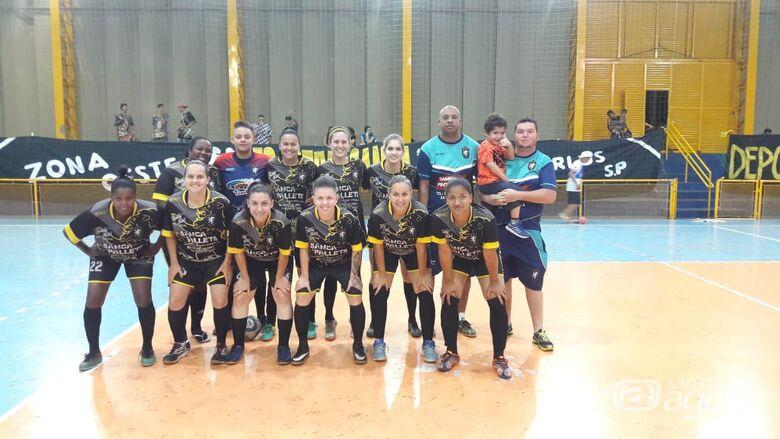 Líder, meninas do Deportivo enfrentam o Proara para cumprir tabela - Crédito: Marcos Escrivani