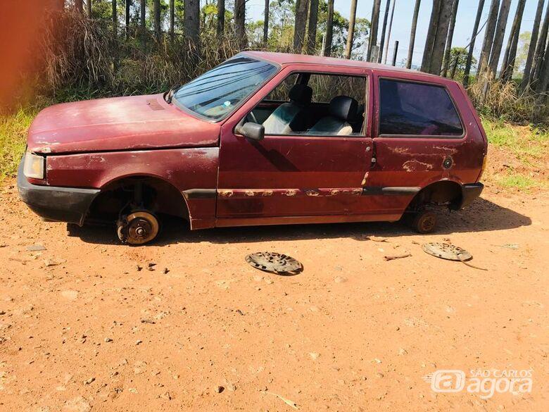 Proprietário localiza veículo que havia sido furtado um dia depois de ser comprado - Crédito: Marco Lúcio