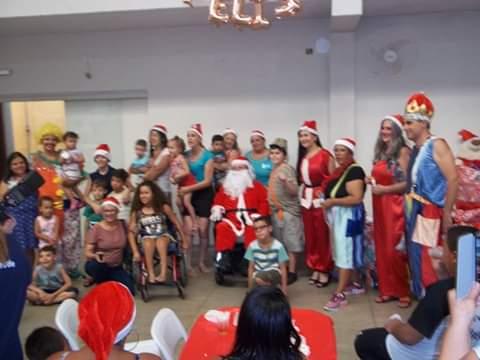 Anjos especiais terão um Natal adaptado; com direito a Papai Noel em domicílio - Crédito: Divulgação