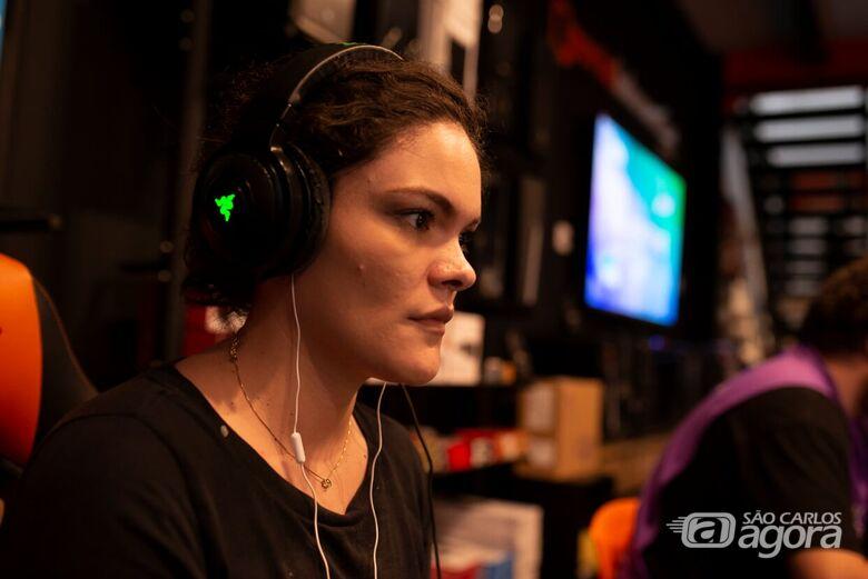 Com competidores de alto nível, é a primeira vez que a Tusca realiza a modalidade de jogos eletrônicos, conhecida como E-Sports - Crédito: OLHARR