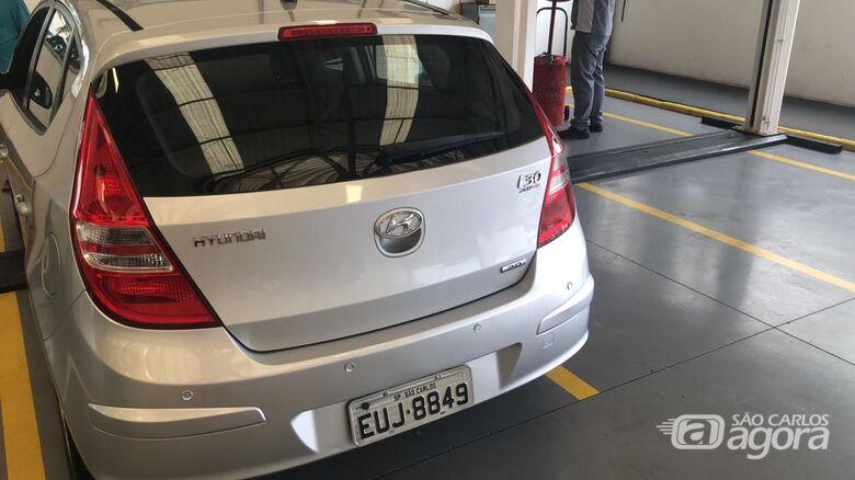 I30 furtado no Santa Felícia é localizado - Crédito: Divulgação