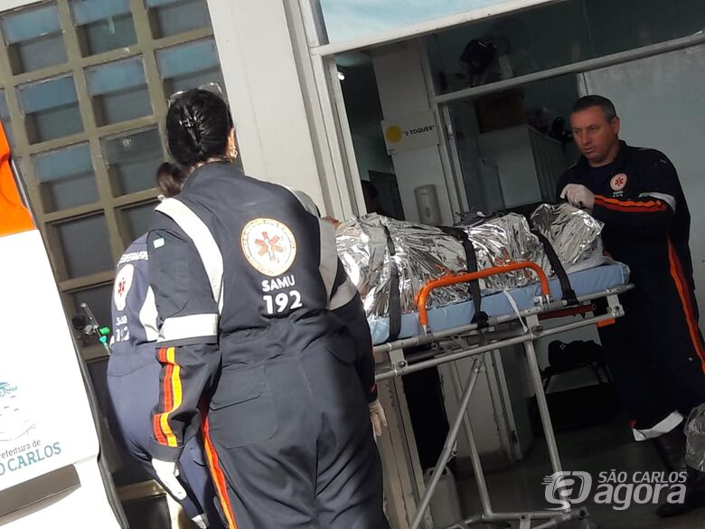 Homem baleado no Gonzaga deixa Santa Casa sem receber alta médica - Crédito: Arquivo/SCA