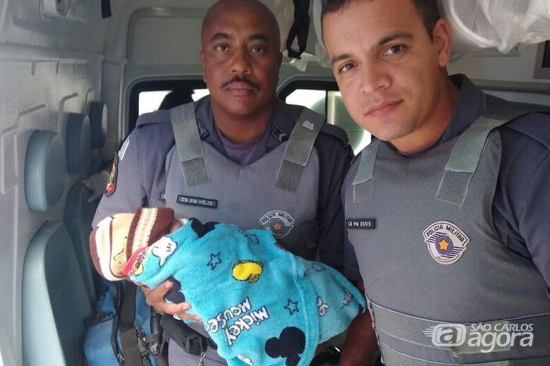 Mãe abandona bebê recém-nascido em mata - Crédito: X-Tudo Ribeirão