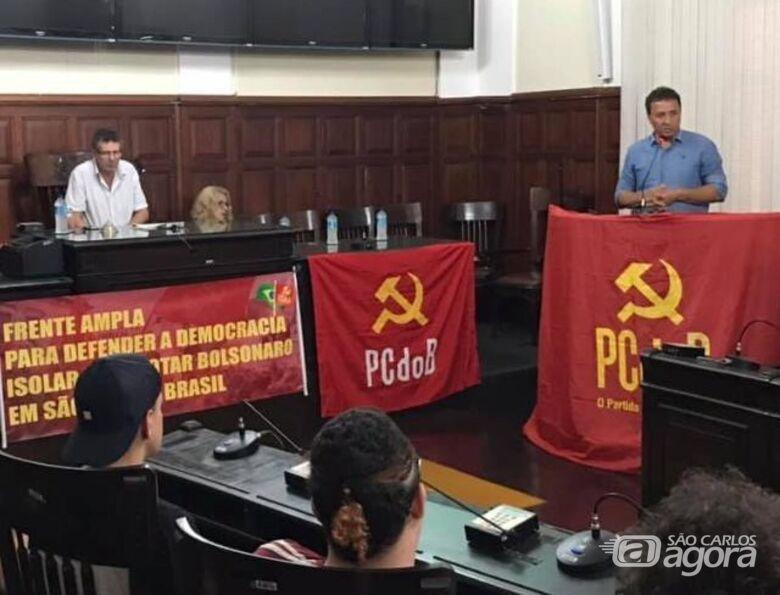 Leandro revela que munícipe ameaçou atropelar Cidinha Oncológico; PCdoB de São Carlos quer derrotar Bolsonaro - Crédito: São Carlos Agora