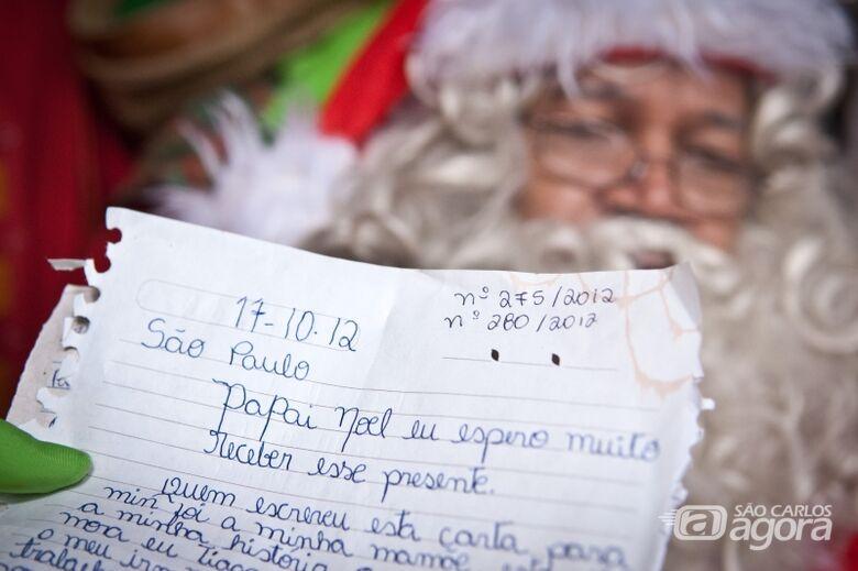 Cartinhas de Natal da campanha dos Correios esperam padrinhos - Crédito: Agência Brasil