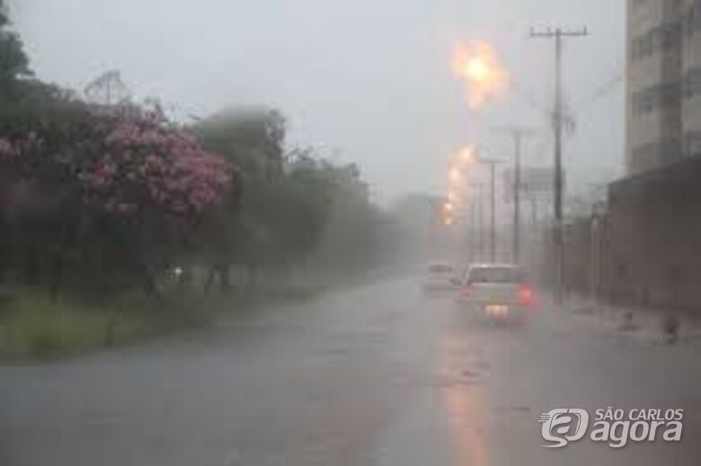 Choveu forte durante a madrugada desta quinta-feira; confira a previsão do tempo - Crédito: Arquivo/SCA