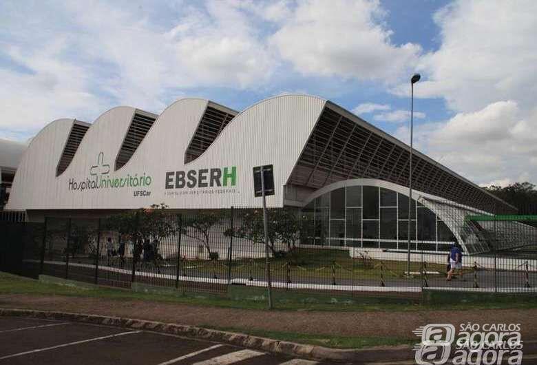 Ebserh lança concurso público com vagas para o Hospital Universitário de São Carlos - Crédito: Arquivo/SCA