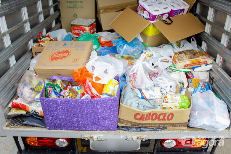 Unicep e Anglo arrecadam 400 quilos de alimentos - Crédito: Divulgação