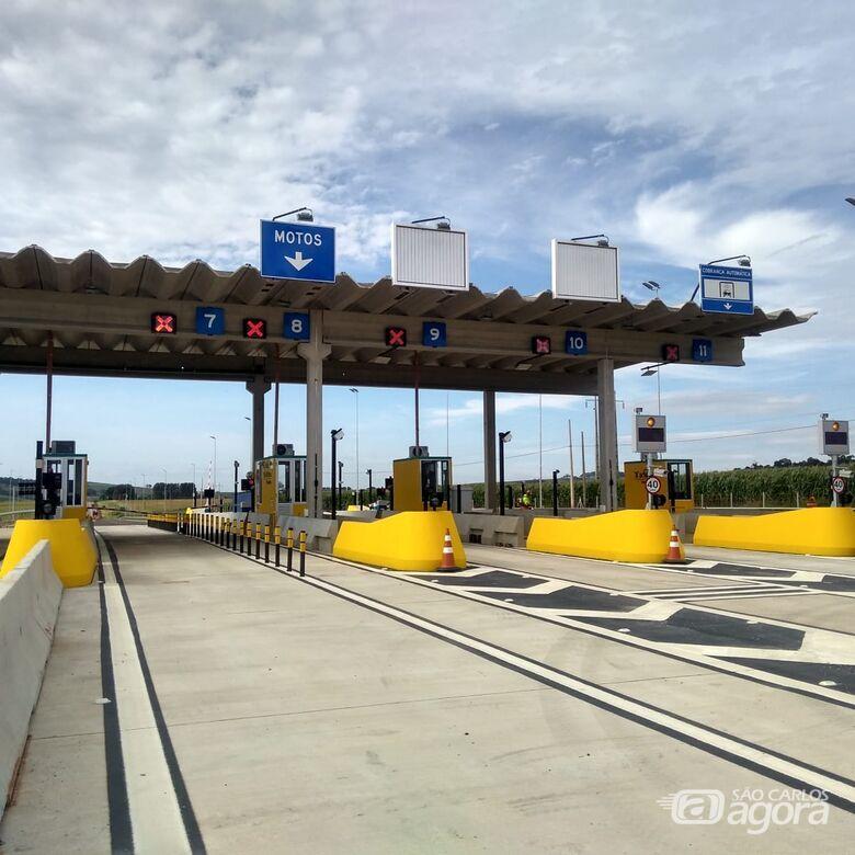 Pedágio no km 254 da SP-318 deve começar a operar em dezembro - Crédito: Divulgação