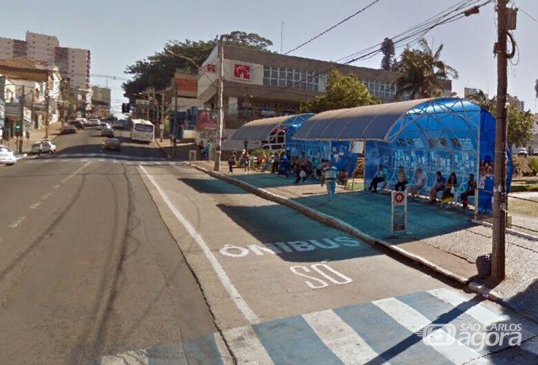Mulher é assaltada no ponto de ônibus do Mercadão - Crédito: Google Maps