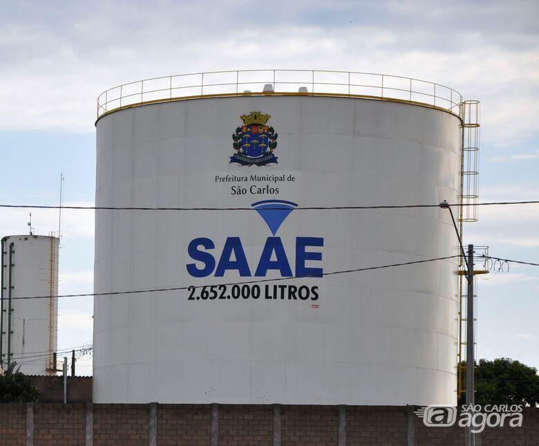 SAAE comunica que poderá faltar água em alguns bairros no próximo domingo -