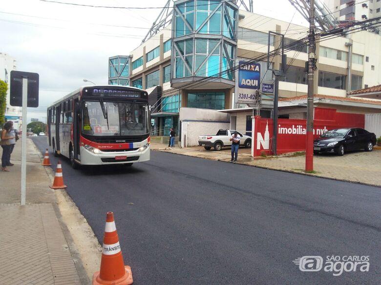 Liberado trecho da rua Dona Alexandrina para o trânsito de veículos - Crédito: Divulgação
