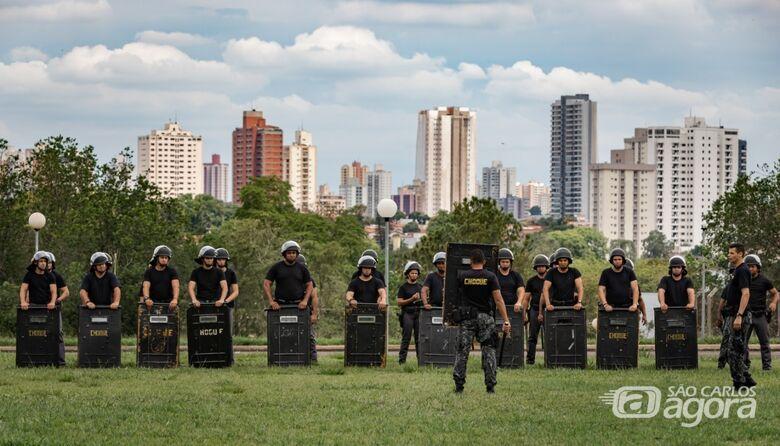 Policiais dos Baeps de Ribeirão Preto e Piracicaba iniciam nova etapa de treinamento - São Carlos Agora