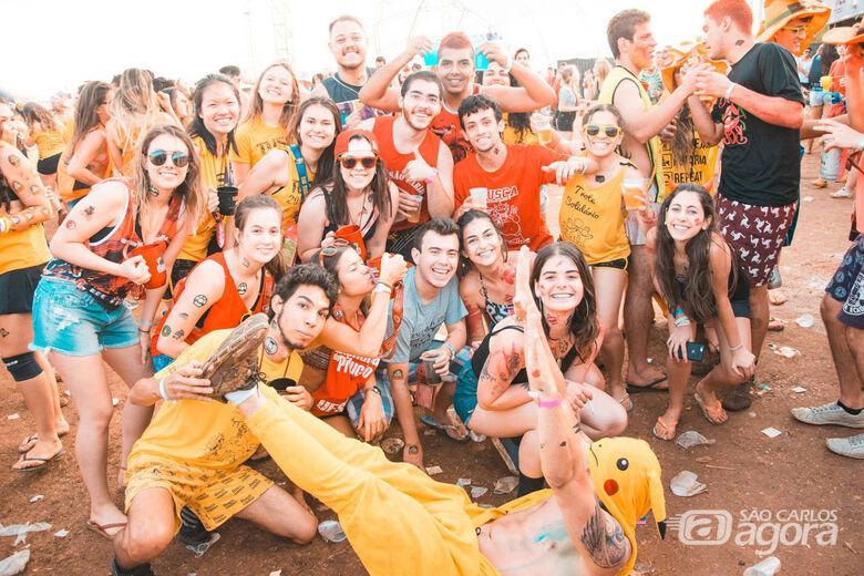 Jovens na edição do ano passado da Tusca - Crédito: Arquivo/Tusca