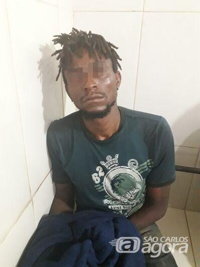Procurado por furto e tráfico é preso no Jardim Santa Tereza - Crédito: Luciano Lopes
