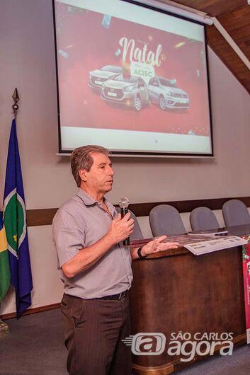 Presidente da ACISC, José Fernando Domingues - Crédito: Divulgação
